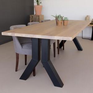 Moderne Eikenhouten Eettafel.Eiken Tafel Op Maat Hoogste Kwaliteit Scherpe Prijs