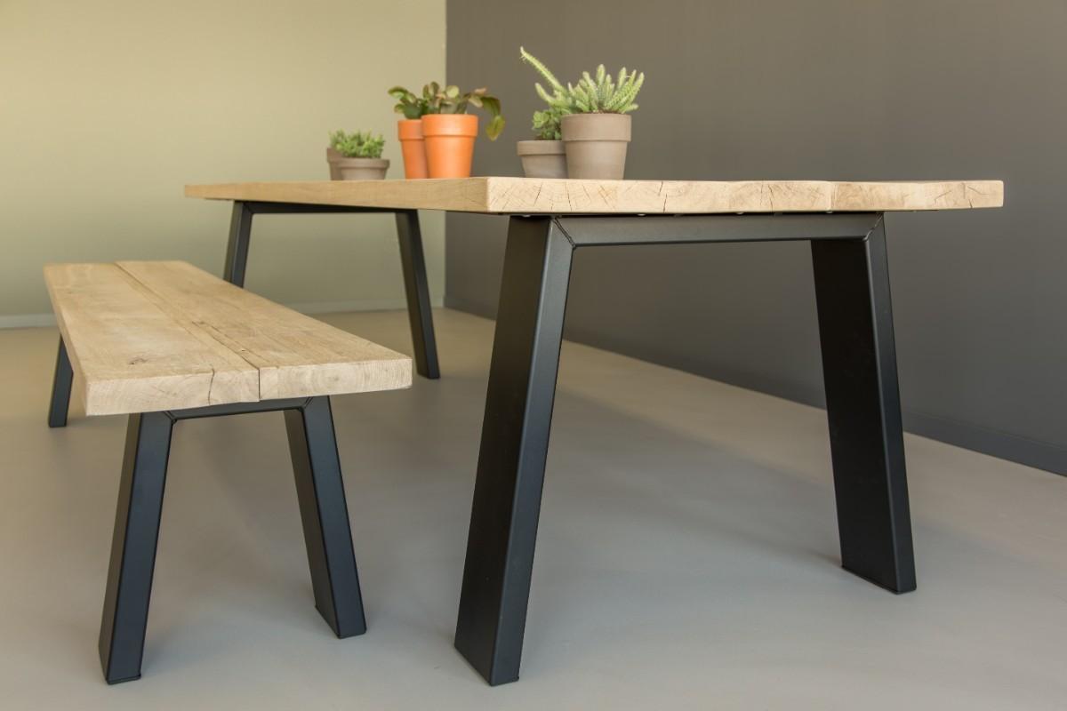 Tafel Laten Bezorgen : Industriële tafel livingston tafels