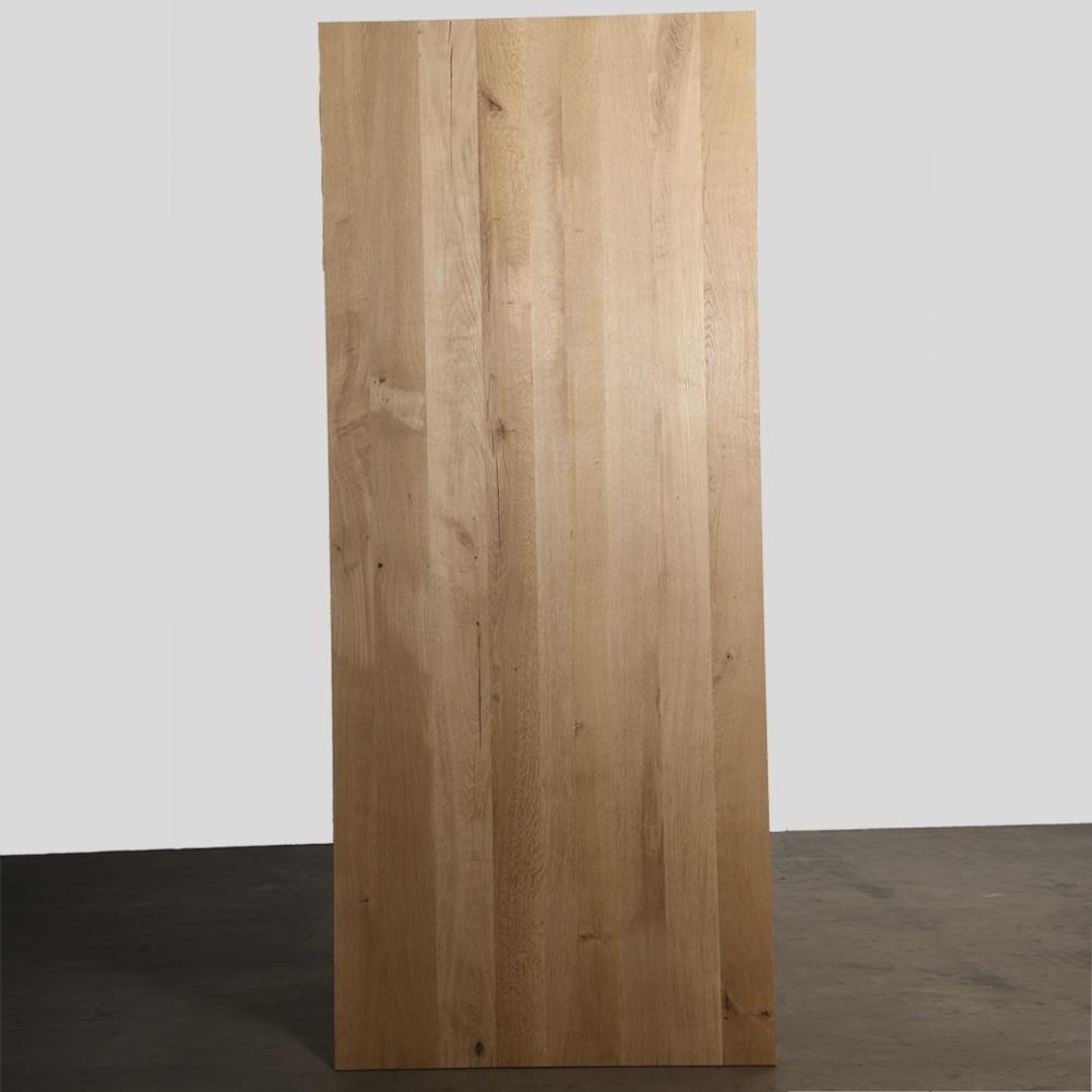 Tafelblad 180 X 85.Eiken Tafelblad 4 Cm Dik